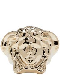 Anillo Dorado de Versace