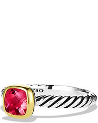 Anillo rosa de David Yurman
