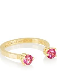 Anillo rosa de Delfina Delettrez