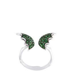 Anillo verde oliva