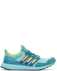 adidas Originals Blue Ultraboost 10 Dna Sneakers
