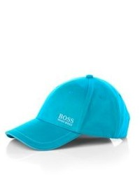 Hugo Boss Cap Cotton Twill Hat One Size Open Green