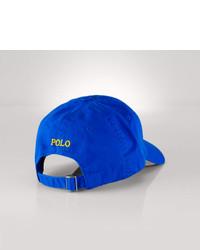 69296de1589b ... Polo Ralph Lauren Cotton Chino Baseball Cap ...