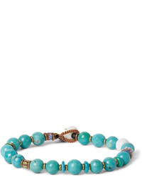Aquamarine Beaded Bracelet