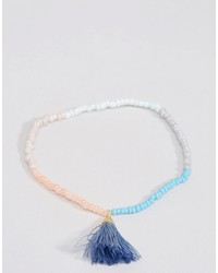 Pilgrim Beaded Tassel Friendship Bracelet