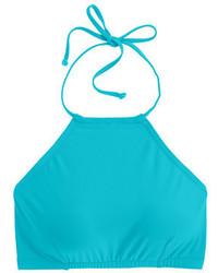 J.Crew Cropped Halter Bikini Top
