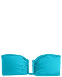 J.Crew U Front Bandeau Bikini Top