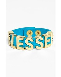 BCBGeneration Blessed Bracelet New Gold Turquoise