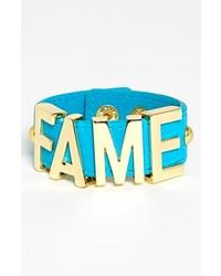BCBGeneration Fame Bracelet New Gold Turquoise