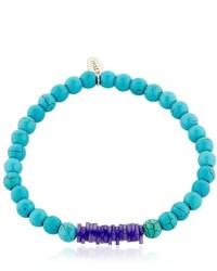 Eton Turquoise Beaded Bracelet