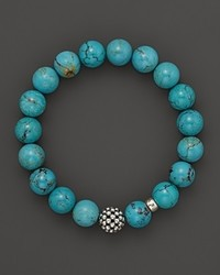 Lagos Caviar 10mm Ball Beaded Turquoise Bracelet
