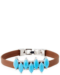 Fallon Monarch Mini Jagged Edge Cuff Bracelet