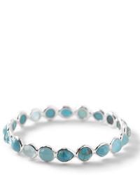 Wonderland silver turquoise bangle medium 437741