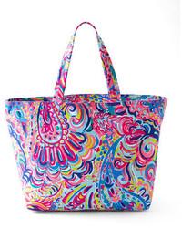 Aquamarine Canvas Tote Bag