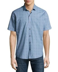 c58e7f864 Burberry Fred Check Sport Shirt Out of stock · Zachary Prell Caringella  Checkerboard Short Sleeve Sport Shirt Turquoise