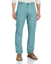 Haggar Lk Life Khaki Lightweight Slim Fit Flat Front Chino Pant