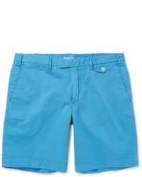 Boglioli Stretch Cotton Bermuda Shorts
