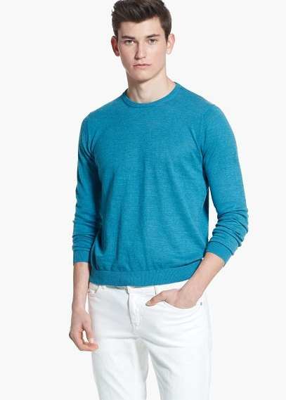 Mango Fine Knit Cotton Sweater | Where to buy & how to wear
