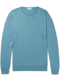 Hatfield sea island cotton sweater medium 3714315