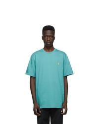 CARHARTT WORK IN PROGRESS Blue Chase T Shirt