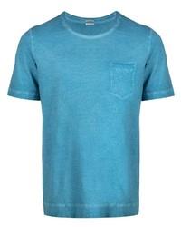 Massimo Alba Distressed Cotton T Shirt