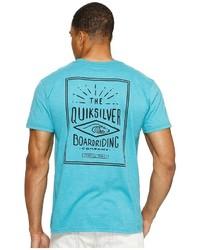 Quiksilver Double Lines Tee T Shirt