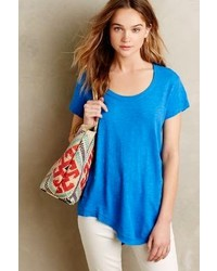 Anthropologie Left Of Center Slubbed Palette Tee
