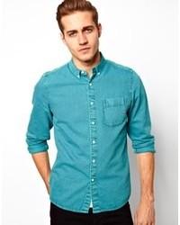Aquamarine Denim Shirt
