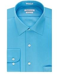 7095a56b6df9a ... Van Heusen Lux Sateen Regular Fit Solid Spread Collar Dress Shirt