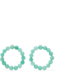 Saskia Diez Holiday Amazonite Earrings Turquoise