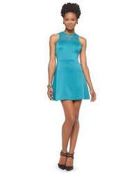 Mossimo Fit And Flare Scuba Dress Tm