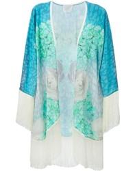 Athena procopiou fringed floral kimono medium 212678
