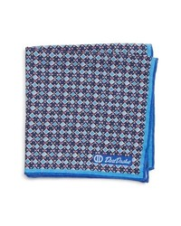 David Donahue Geometric Pocket Square