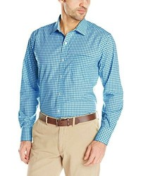 American Icon Long Sleeve Gingham Spread Collar Shirt