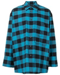 Wooyoungmi Oversized Checked Shirt
