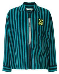 Aquamarine Harrington Jacket