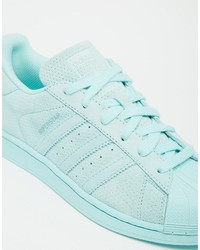 d626d2e08227 ... adidas Originals Superstar Rp Tonal Aqua Sneakers ...