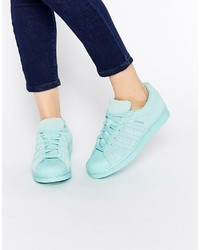 Originals superstar rp tonal aqua sneakers medium 738406