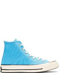 Converse Premium Chuck Taylor Blue Chuck Taylor 70 High Top Sneakers
