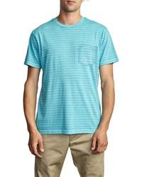 RVCA Stripe Pocket T Shirt