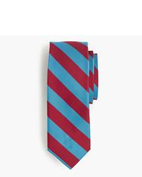 J.Crew Silk Repp Striped Tie