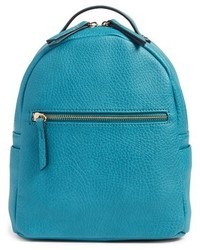 Mali Lili Faux Leather Backpack Blue