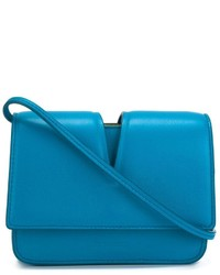Jil Sander Cut Out Flap Crossbody Bag