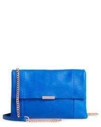 London parson leather crossbody bag blue medium 6452604
