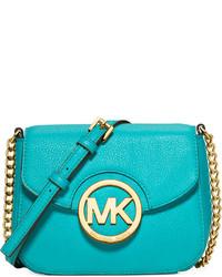 ad1dc2af2a11 Women's Aquamarine Leather Crossbody Bags by MICHAEL Michael Kors ...