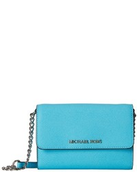 MICHAEL Michael Kors Michl Michl Kors Jet Set Travel Large Phone Crossbody Cross Body Handbags