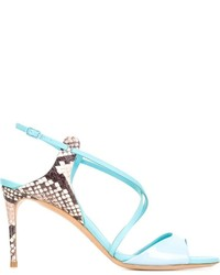 Casadei mid heel stiletto sandals medium 689207