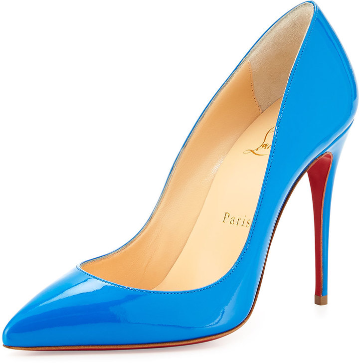 louboutin pigalle follies blue
