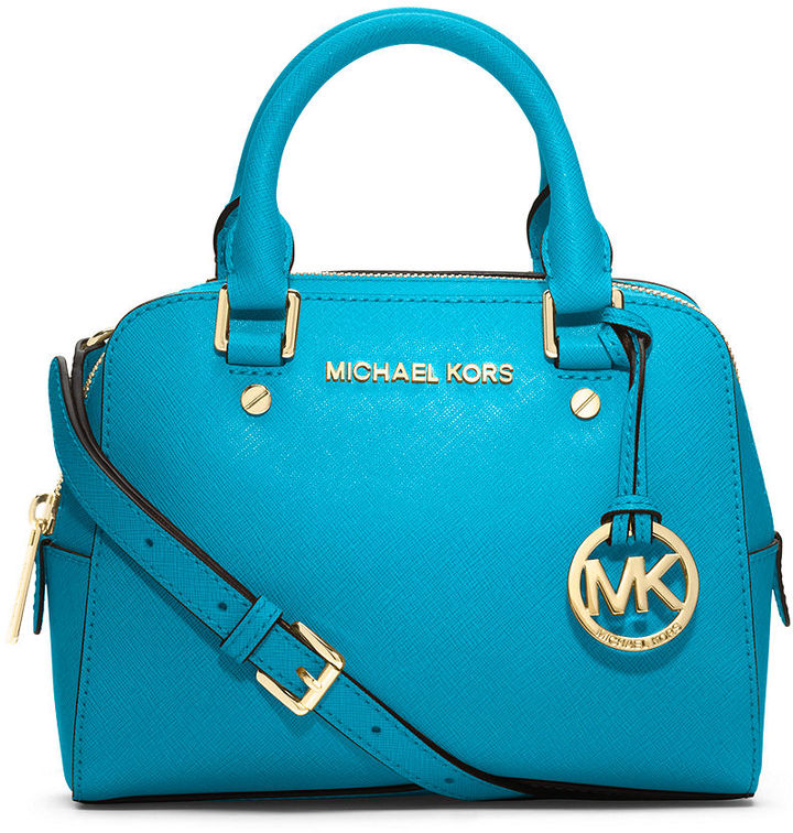3a773d687972ed ... usa michael michael kors michl michl kors jet set small travel satchel  8a53c 7674c