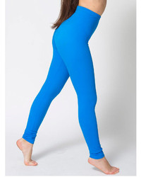 American Apparel Rib Tricot Leggings